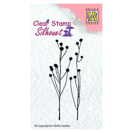 Silhouette Herbs 2 Stamp by Nellie's Choice