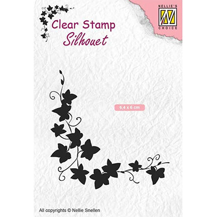 Silhouette Ivy Stamp by Nellie's Choice