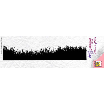Silhouette Spring Meadow Stamp by Nellie's Choice