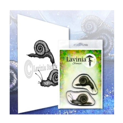 Snail Set by Lavinia Stamps available at Del Bello's Designs