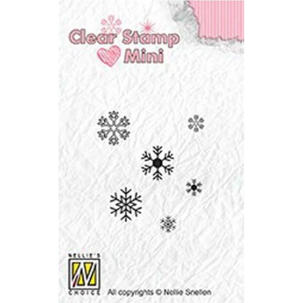 Minis Snowflakes Stamp by Nellie's Choice