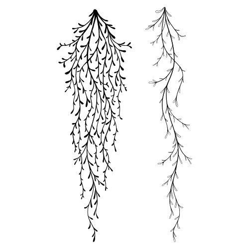 Spanish Moss by Lavinia Stamps LAV505 Artist Tracey Dutton available at Del Bello's Designs