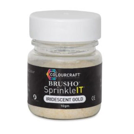 Iridescent Gold SprinkleIT by Colourcraft available at Del Bello's Designs