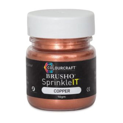 Metallic Copper SprinkleIT by Colourcraft available at Del Bello's Designs