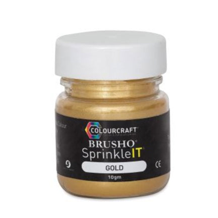Metallic Gold SprinkleIT by Colourcraft available at Del Bello's Designs