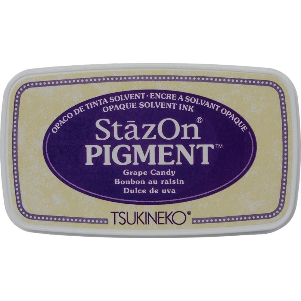 StazOn Grape Candy Full Size Pigment Ink Pad by Tsukineko SZPIG011