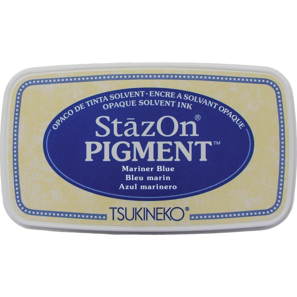 StazOn Mariner Blue Full Size Pigment Ink Pad by Tsukineko SZPIG061