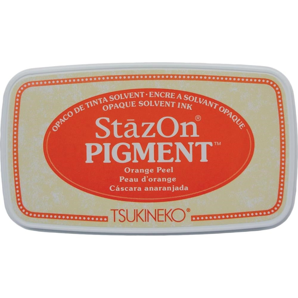StazOn Orange Peel Full Size Pigment Ink Pad by Tsukineko SZPIG071