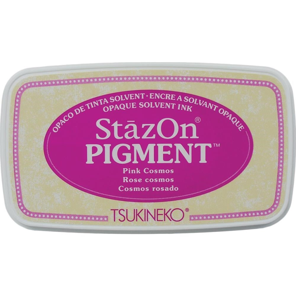 StazOn Pink Cosmos Full Size Pigment Ink Pad by Tsukineko SZPIG081