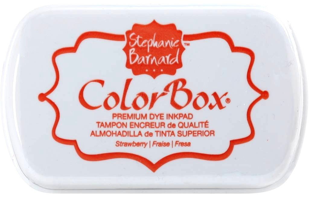 ColorBox Strawberry Premium Dye Ink Pad by ClearSnap