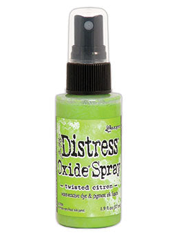 Distress Oxide Twisted Citron Ink Spray by Ranger/Tim Holtz