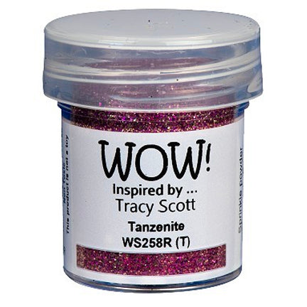 Tanzenite Embossing Powder by WOW!