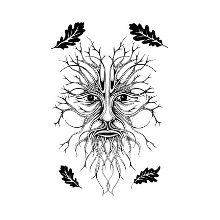 The Green Man (Large) by Lavinia Stamps LAV451 Artist Tracey Dutton available at Del Bello's Designs