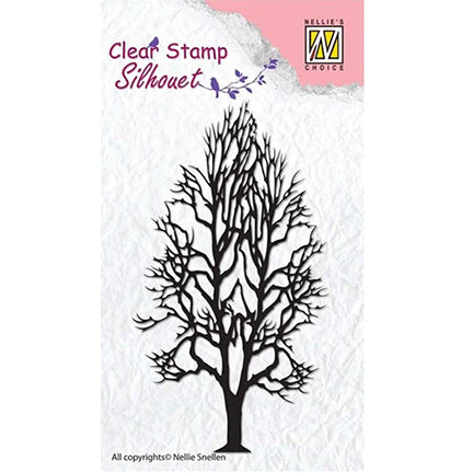 Tree 2 Stamp by Nellie's Choice