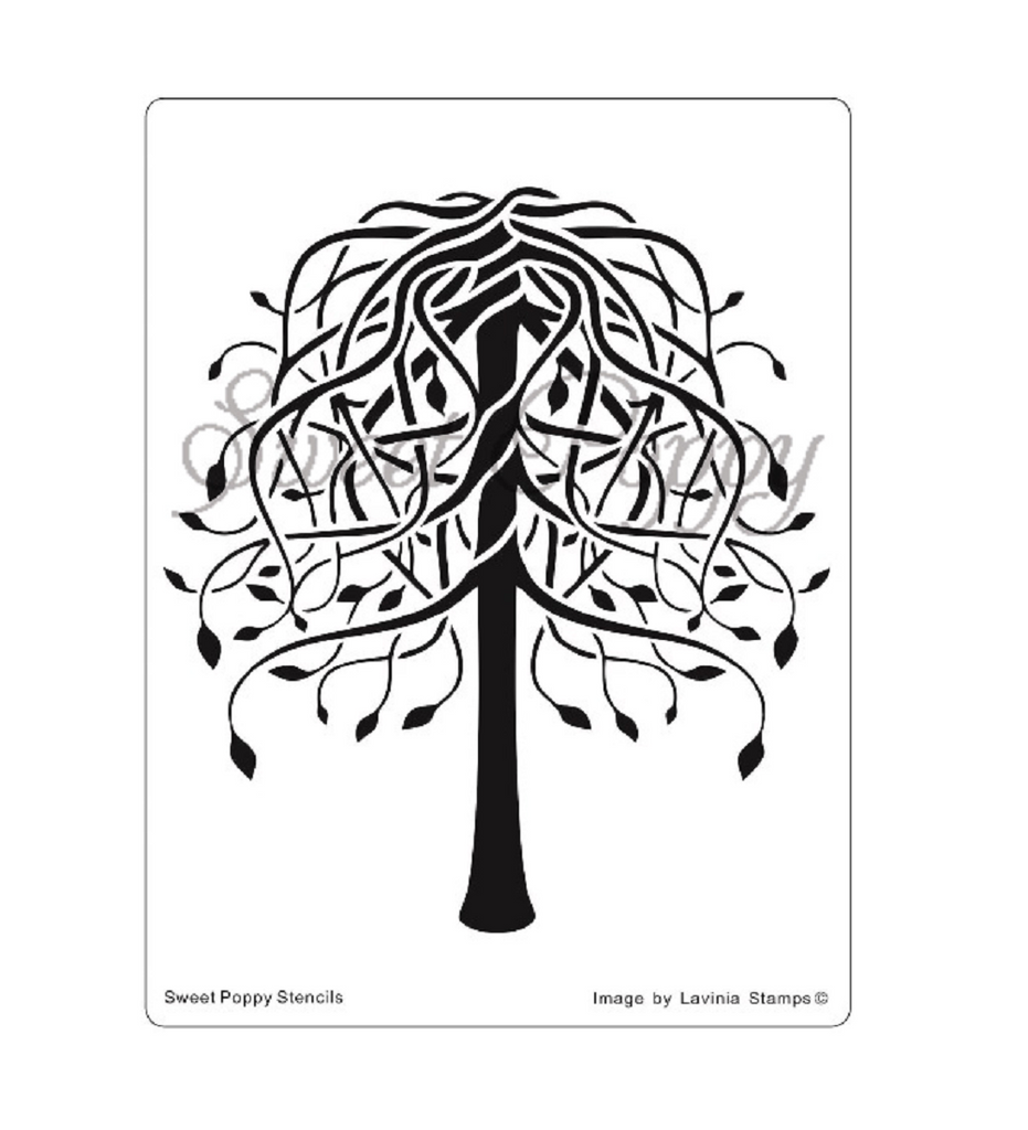 Tree Of Hope Stencil by Sweet Poppy