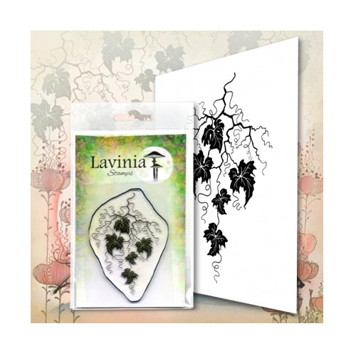 Vine Flourish by Lavinia Stamps available at Del Bello's Designs