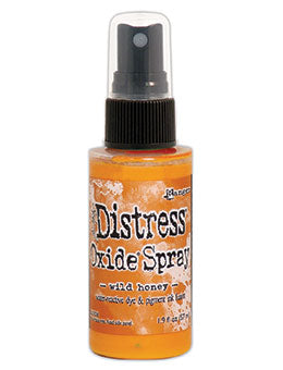 Distress Oxide Wild Honey Ink Spray by Ranger/Tim Holtz