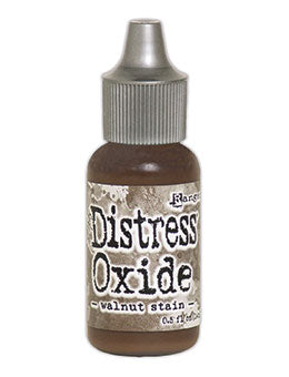 Distress Oxide Walnut Stain Reinker by Ranger/Tim Holtz