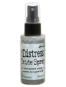 Distress Oxide Weathered Wood Ink Spray by Ranger/Tim Holtz