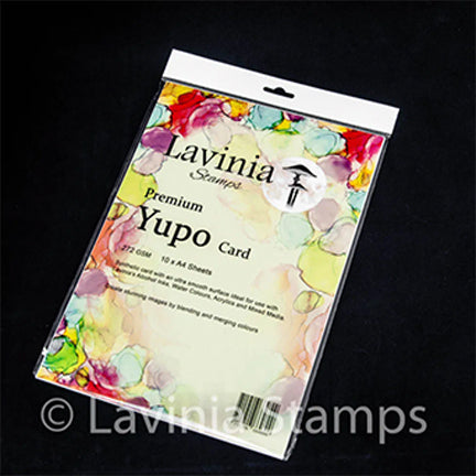 Yupo Card A4 100 lb. Paper by Lavinia Stamps