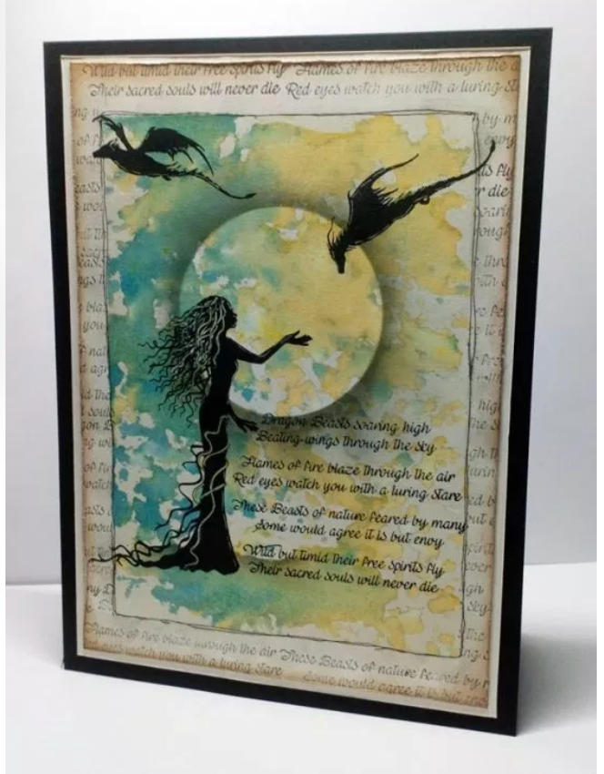 Zemira by Lavinia Stamps LAV554 Artist Tracey Dutton available at Del Bello's Designs