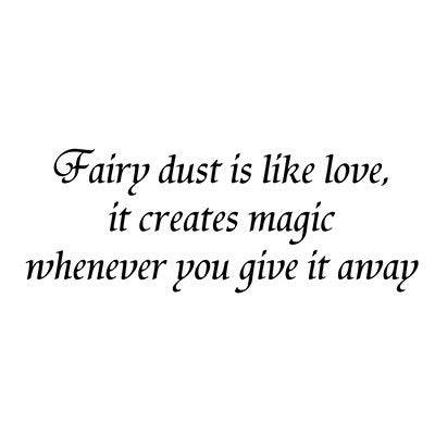 Fairy Dust Is Like Love by Lavinia Stamps LAV024 Artist Tracey Dutton