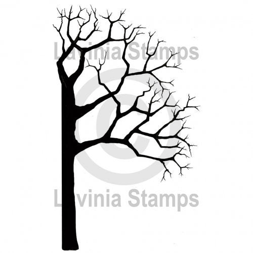 Tree Half Right by Lavinia Stamps *Retired*