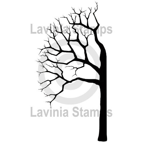 Tree Half Left by Lavinia Stamps *Retired*