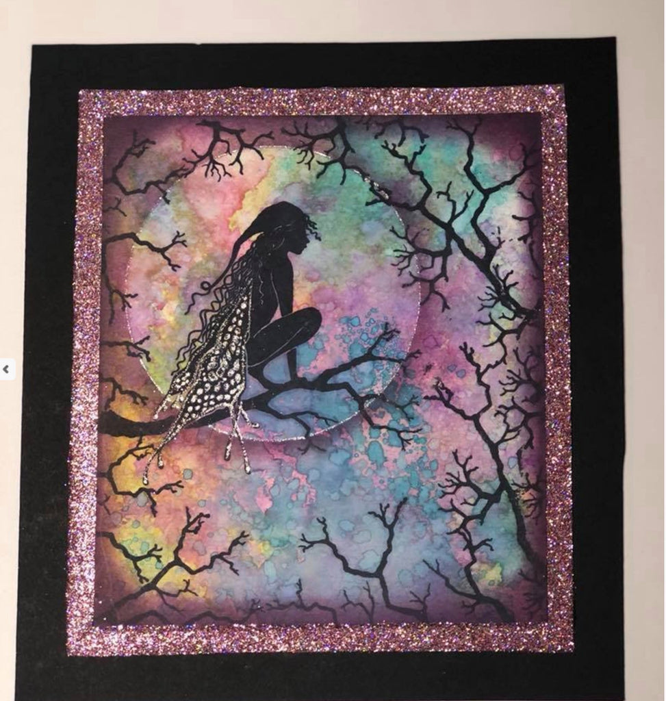 Tree Branch by Lavinia Stamps LAV506 Artist Tracey Dutton available at Del Bello's Designs