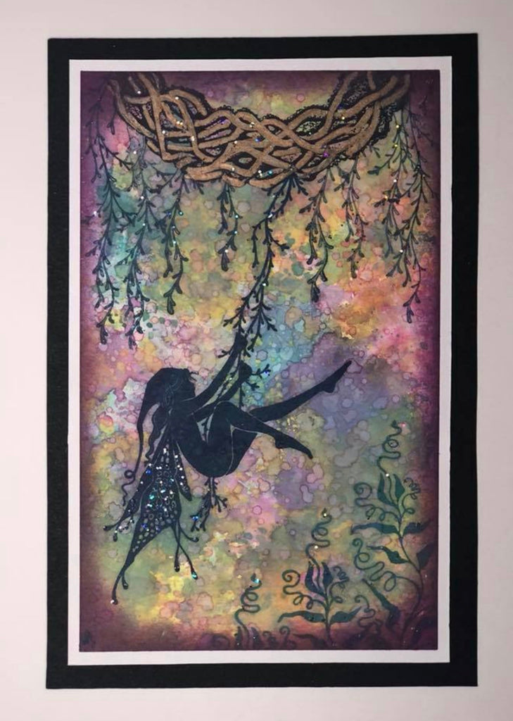 Willow Arch by Lavinia Stamps Artist Tracey Dutton available at Del Bello's Designs