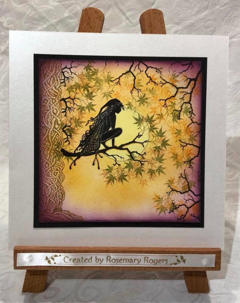 Mini Leaf 5 by Lavinia Stamps LAV512 Artist Tracey Dutton available at Del Bello's Designs