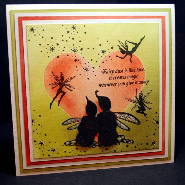 Star Gazing by Lavinia Stamps LAV266 Artist Tracey Dutton available at Del Bello's Designs