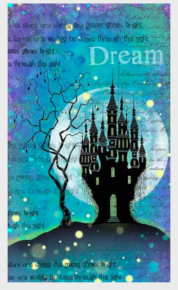Dragon Stone Castle by Lavinia Stamps LAV533 Artist Tracey Dutton available at Del Bello's Designs