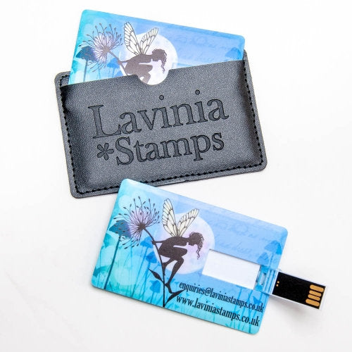 USB Card Cutting Files by Lavinia Stamps, 40 Files Included