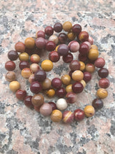 Load image into Gallery viewer, Mookaite Jasper Bracelet - Root, Sacral and Solar Plexus Chakras - Cleanses, Grounds and Strengthens