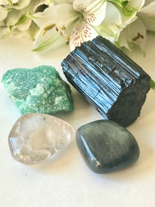 Crystals for Protection from Energy Vampires