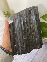 Load image into Gallery viewer, Black Tourmaline Log - 5 pounds