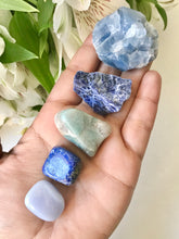 Load image into Gallery viewer, Throat Chakra Stone Set