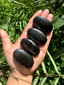 Shungite Palm Stone (ONE stone)