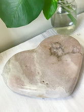 Load image into Gallery viewer, Pink Amethyst Heart