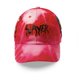 "Posh NYC Acid Wash Rock Hard Series ""Killer"" Dad Hat - Red"