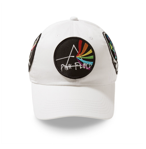 Posh NYC Rock Hard Dad Hat Spectrum Series - White