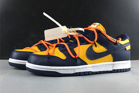 Dunk Low White Michigan Sneakers