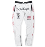 Club Foreign NYC Team USA TrackPants - White