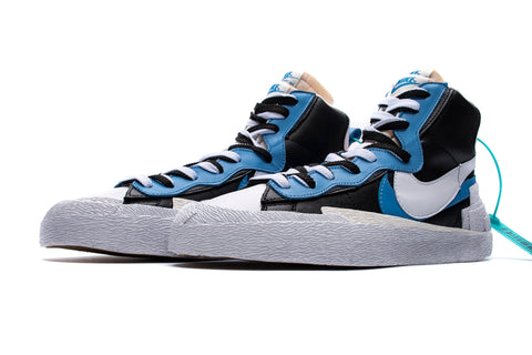 Blazer Mid Snow Beach High Top Sneaker - Blue/White/Navy