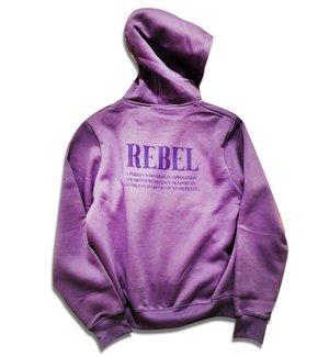 Captain Rebel 'Rebel' Hoodie - Purple Haze