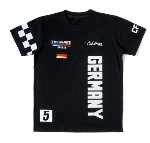 Club Foreign NYC Performance T-shirt - Black