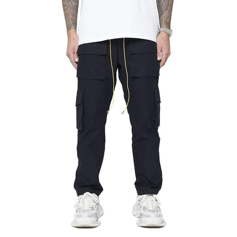 DSRCV SNAP CARGO PANTS - BLACK