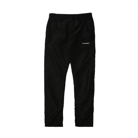 GVNMNT CLOTHING CO' MONO TRACK BOTTOMS - BLACK