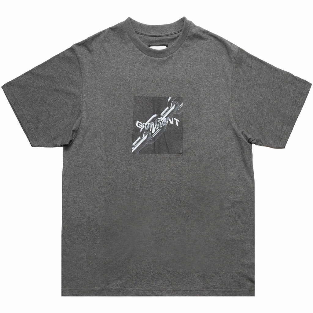 GVNMNT CLOTHING CO CHAIN BREAKERS T-SHIRT - GREY